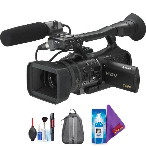 Sony HVR-V1U HDV Camcorder + Pro Accessories Bundle (Certified Refurbished). Opens flyout.
