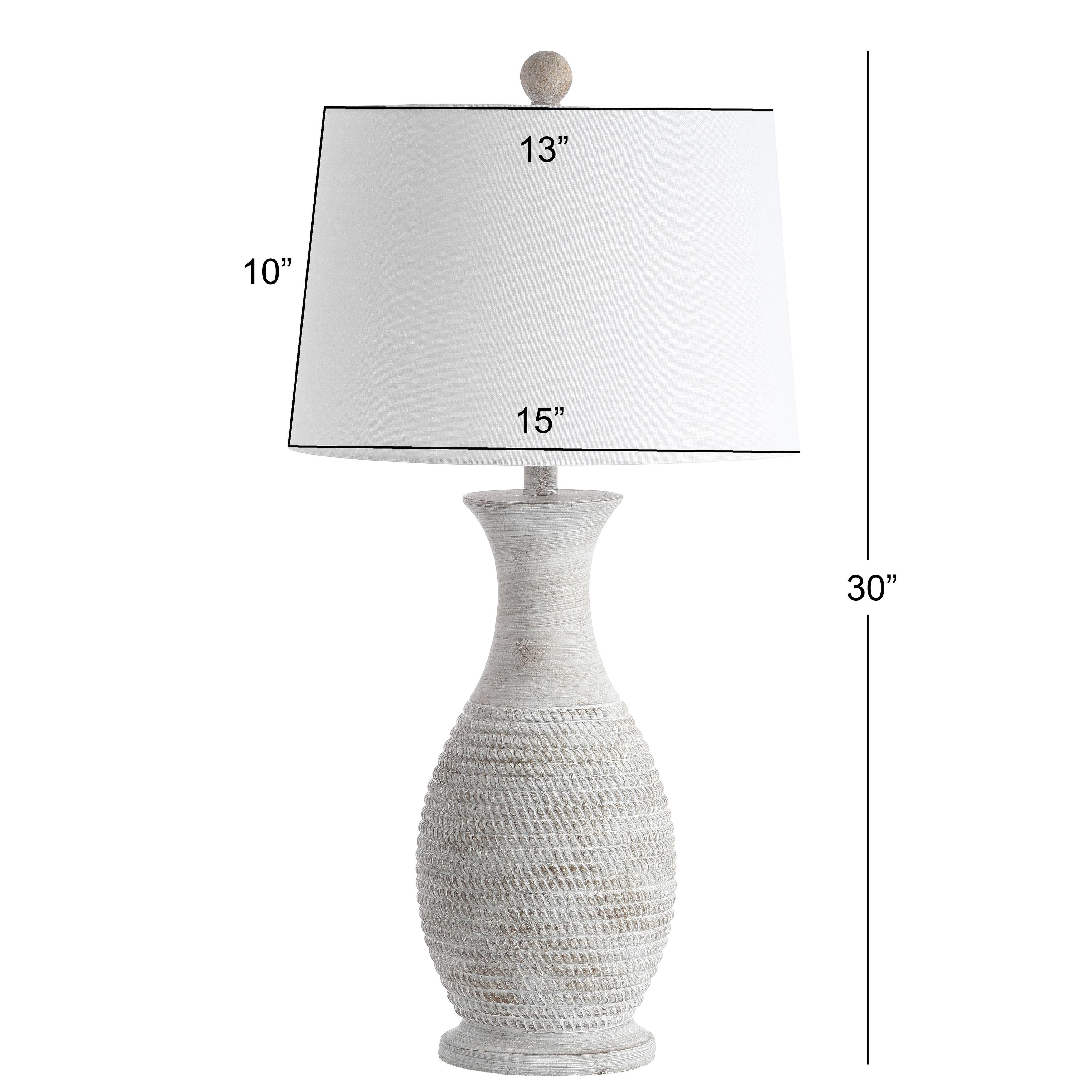 Safavieh Lighting 30 Inch Bentlee Grey Led Table Lamp Set Of 2 15 X15 X30 On Sale Overstock 27123744