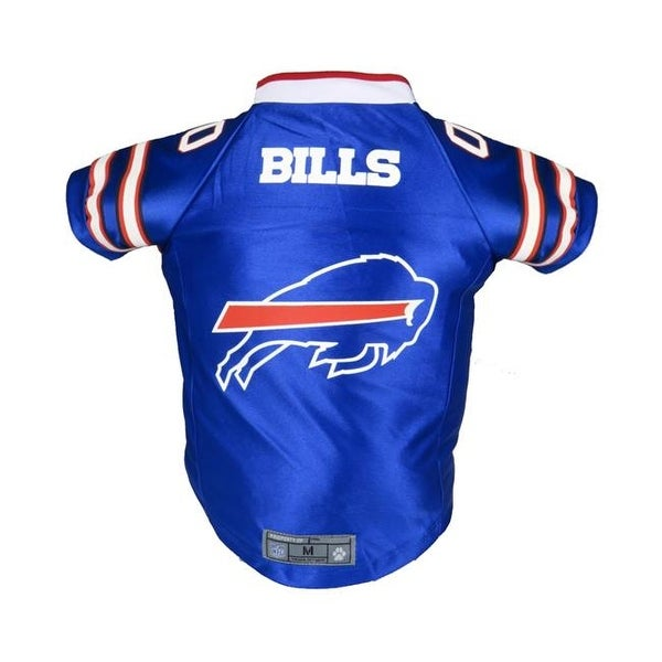 7e8853d0e0a Shop Little Earth NFL Pet Premium Jersey, Buffalo Bills - Small - Free  Shipping On Orders Over $45 - Overstock - 23832702