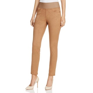 Foxcroft Womens Nina Leggings Faux Suede Day To Night