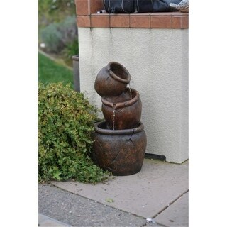 BOND Y98908 Venice 27 Lighted Zen Fountain