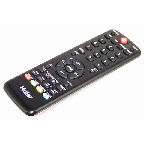OEM Haier Remote Control Originally Shipped With HL22K2, HL19LE2, HL22XLE2