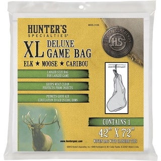 Hunters specialties 01235 hs field dressing game bag xl deluxe 42x72