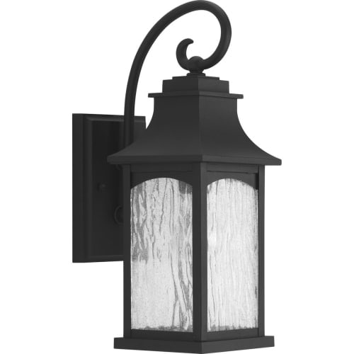 Progress Lighting P5753 Maison 16 Tall Single Light Outdoor Wall Sconce With Water Gl Shade