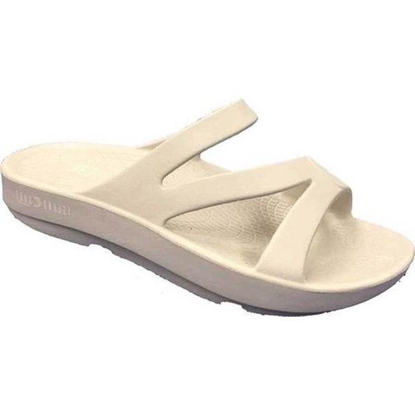 33d44934a5bc Shop Island Surf Co. Coral Slide Beige Foam - On Sale - Free Shipping On  Orders Over  45 - Overstock - 25588073
