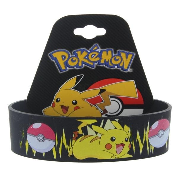 Pokemon Pikachu Youth Silicone Wristband