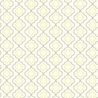 York Wallcoverings KH7087 Small Trellis Wallpaper - white/yellow/grey - N/A