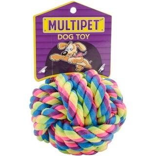 - Multipet Nuts For Knots Dog Toy 4""