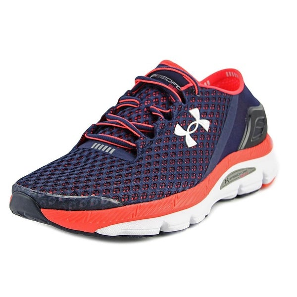 Under Armour UA Speedform Gemini Men Round Toe Synthetic Blue Running Shoe