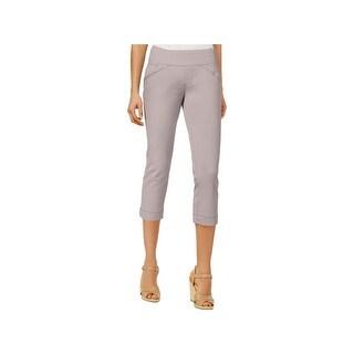 Jag Jeans Womens Petites Marion Casual Pants Classic Fit Crop