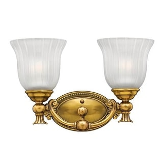 "Hinkley Lighting H5582 2 Light 15"" Width Bathroom Vanity Light from the Francoise Collection"
