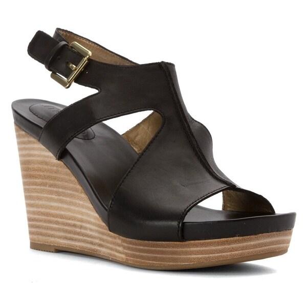 1a8c41daf1e Me Too Womens Atlantis6 Leather Open Toe Casual Platform Sandals - 7