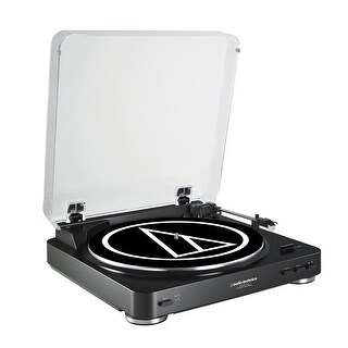 AudioTechnica ATLP60 Fully Automatic Belt-Drive USB & Analog Turntable