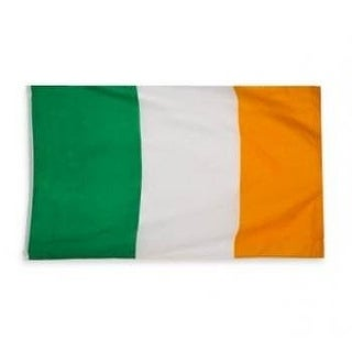 "Rhode Island Novelty 3Feet x 5Feet"" Irish Flag"
