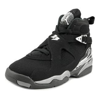 Jordan Air Jordan Retro 8 GS Round Toe Suede Sneakers