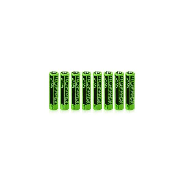 Clarity NiMH AAA Batteries (8-Pack) NiMh AAA Batteries 4-Pack