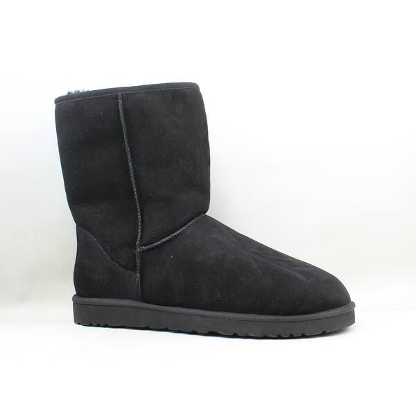 ca326fa9d4f Shop UGG Mens Classic Black Snow Boots Size 16 - On Sale - Free ...
