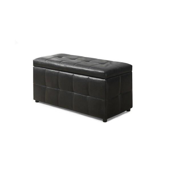 Shop Monarch Specialties I 8984 38 Inch Wide Leatherette Storage