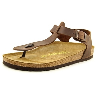 Birkenstock Kairo N Open Toe Leather Thong Sandal