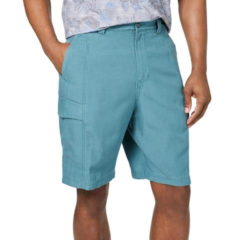"Tommy Bahama Mens Key Grip Cargo Shorts Tencel 9.5"" Inseam"