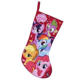 "My Little Pony 19"" Applique Stocking"