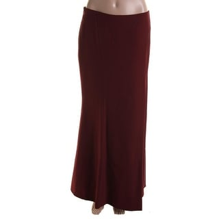 Catherine Malandrino Womens Twill Solid Pencil Skirt - M