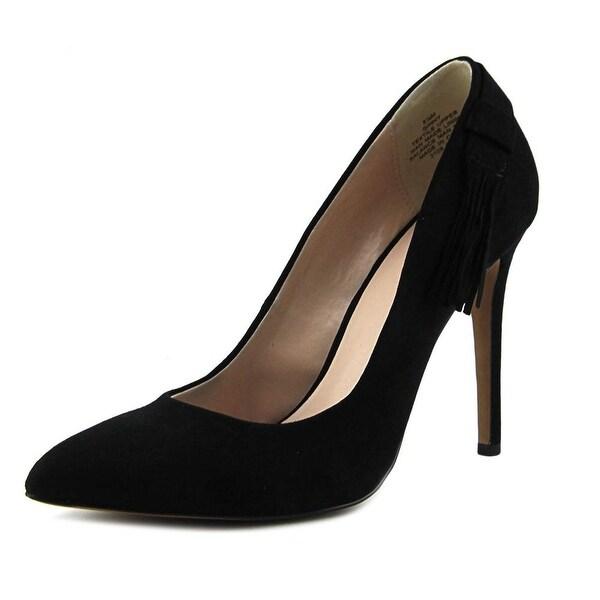 Nine West Ginny Women Pointed Toe Suede Black Heels