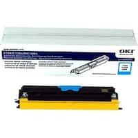 OKI Toner Cartridge - Cyan 44250715 Oki Toner Cartridge - Cyan - LED - 2500 Page - 1 Each - OEM