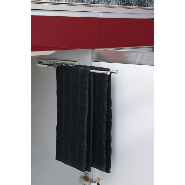 Shop Rev-A-Shelf 563-51 563 Series 2 Prong Towel Bar with 12