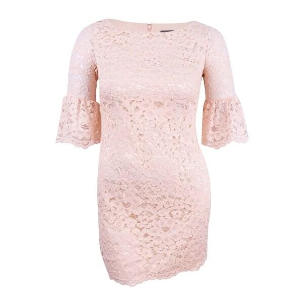 Vince Camuto Women's Lace Lantern-Sleeve Dress