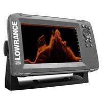 Lowrance 000-14020-001 Hook2-7x w/ GPS Splitshot HDI Transducer , Autotuning sonar and SolarMAX display