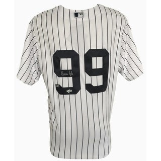 Aaron Judge Signed New York Yankees Majestic Cool Base Jersey Fanatics
