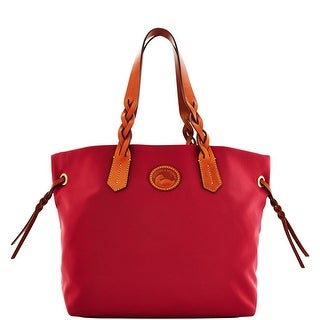 Dooney & Bourke Nylon Shopper (Introduced by Dooney & Bourke at $139 in Jul 2016) - Cranberry