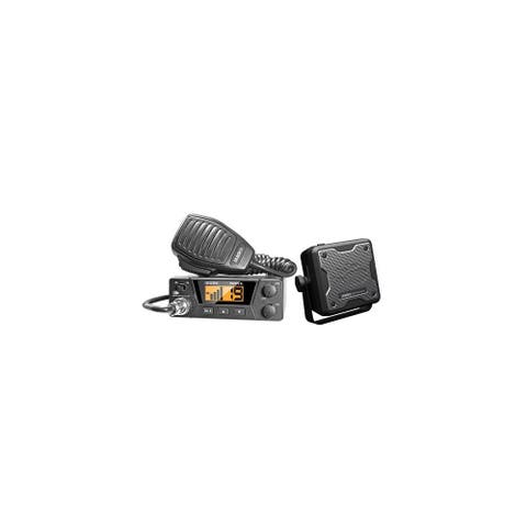 Uniden PRO505XL CB Radio With External Speaker & Backlit Display