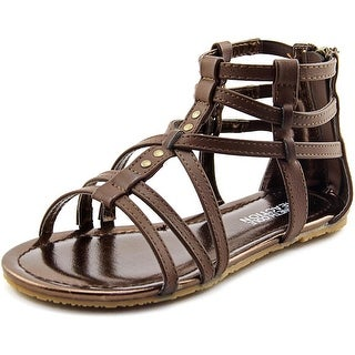 Kenneth Cole Reaction Daylo Gladiator Open Toe Synthetic Gladiator Sandal