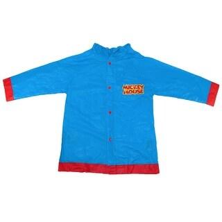 Disney Kids' Mickey Mouse Rain Jacket - Blue