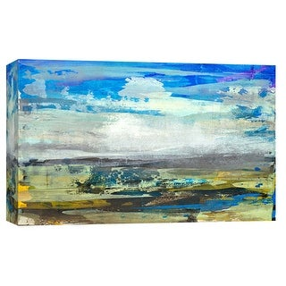 "PTM Images 9-101999  PTM Canvas Collection 8"" x 10"" - ""Building Sky 2"" Giclee Rural Art Print on Canvas"