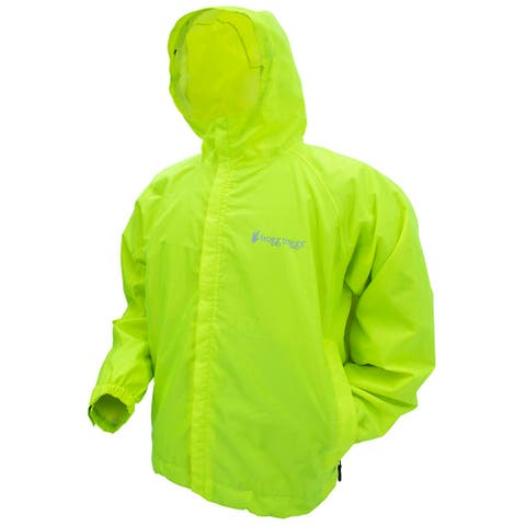 Frogg toggs sw62123-48md frogg toggs sw62123-48md stormwatch jacket - hi-viz yellow-md