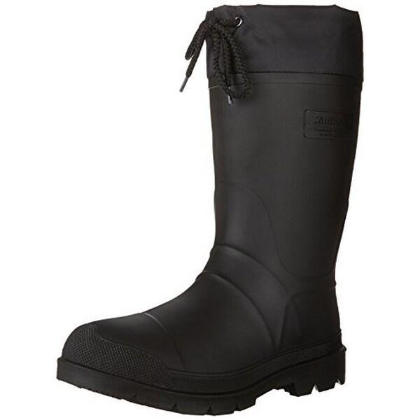 Kamik Men's Hunter Insulated Winter Boot, Black, 12