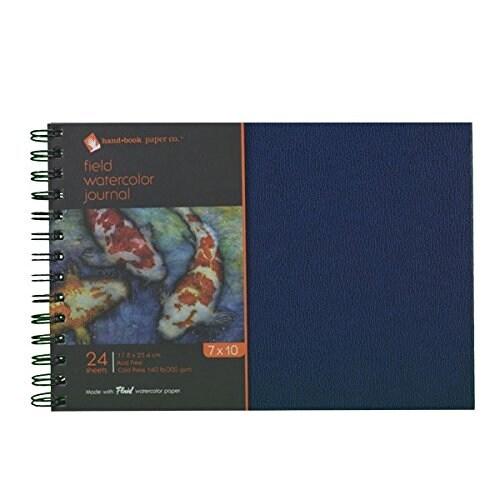 "Global Art - Field Watercolor Journals - 7"" x 10"" - 24 Shts./Pad"