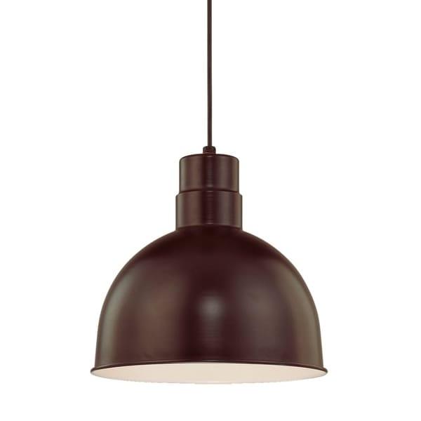 "Millennium Lighting RDBC12 R Series Single Light 12"" Wide Bowl Pendant"
