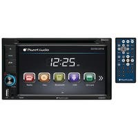 "PLANET AUDIO P9628B 6.2"" Double-Din In-Dash Touchscreen DVD Receiver with Bluetooth(R)"
