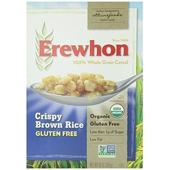 Erewhon Cereal - Organic - Crispy Brown Rice - Gluten Free - 10 oz - case of 12