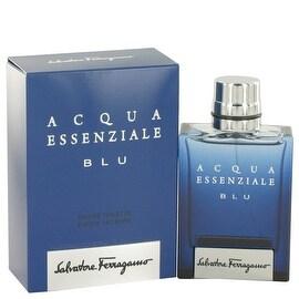 Acqua Essenziale Blu by Salvatore Ferragamo Eau De Toilette Spray 1.7 oz - Men