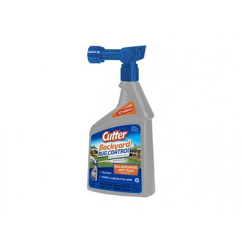 Cutter HG-61067 Bug Free Backyard Mosquito Repellent, 32 Oz
