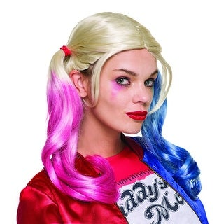 Suicide Squad Harley Quinn Costume Wig Adult One Size