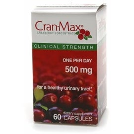 Cran-Max Cranberry Concentrate Dietary Supplement 500 mg Capsules 60 Capsules
