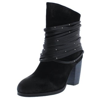 Antelope Womens Ankle Boots Suede Fringe