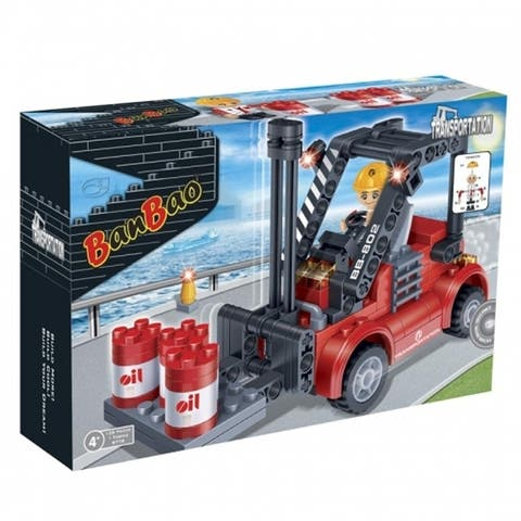 BanBao Interlocking Blocks Forklift 8778 (128 Pcs)
