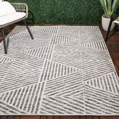 Darcy Stripe Indoor/Outdoor Area Rug